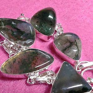Jewelry - Moss Agate Bracelet